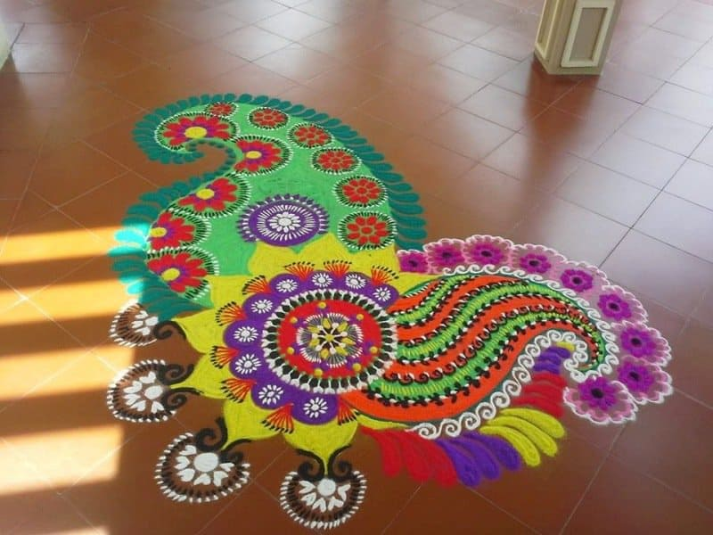 Simple & Easy Small Rangoli Designs for Home