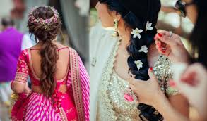 25+ Latest Indian Bridal Braided Hairstyles for Long Hair
