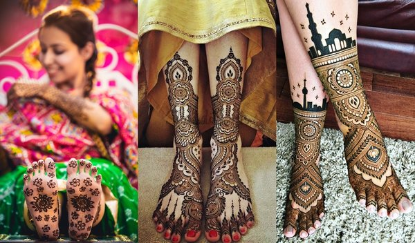65+ Leg Mehndi Design 2021 - Simple, Easy, and New
