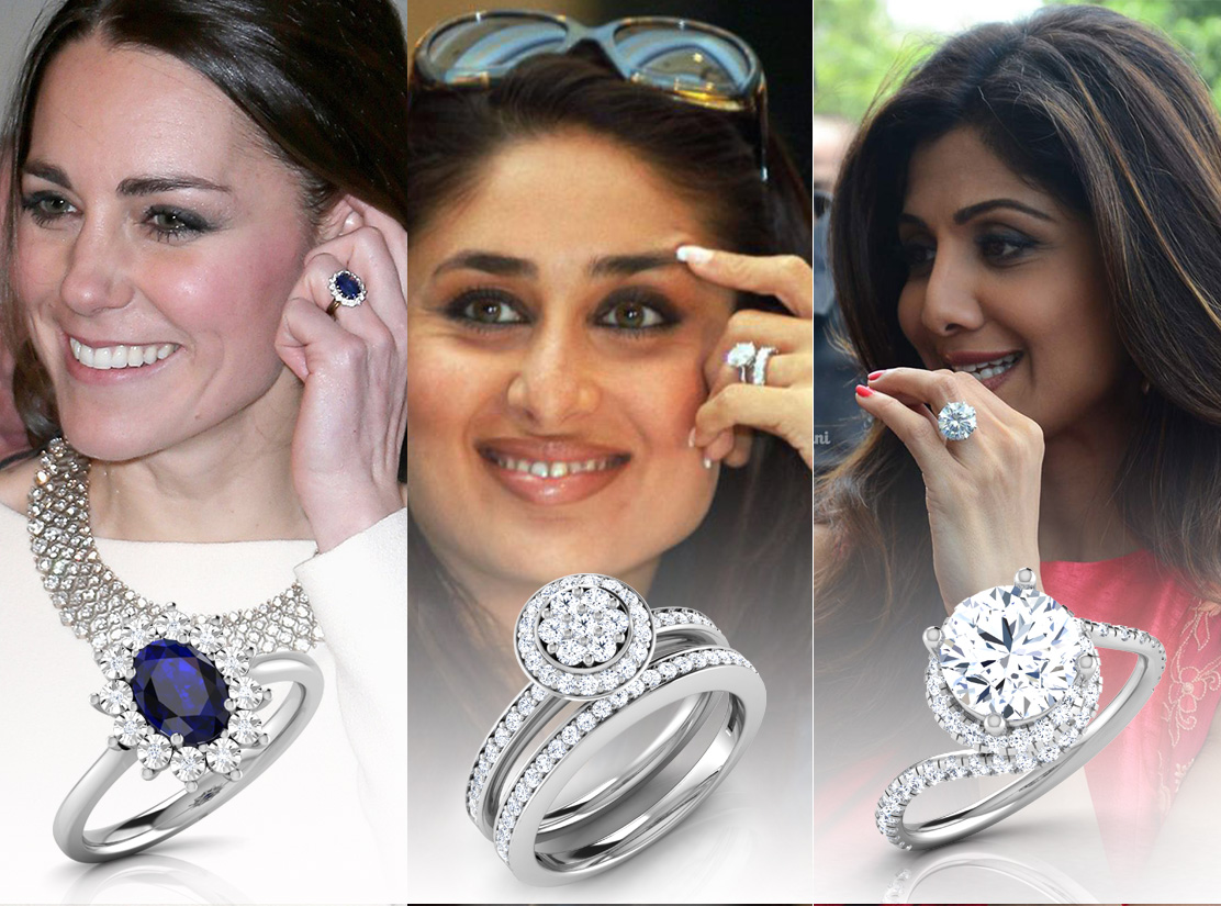 15+ Best Celebrity Engagement Ring Designs for your Engagement Ceremony