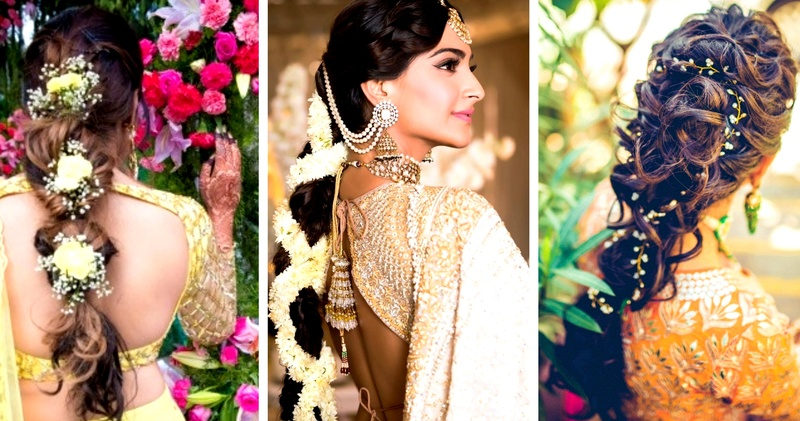 15+ Trendy and Latest Engagement Hairstyles For Indian Brides