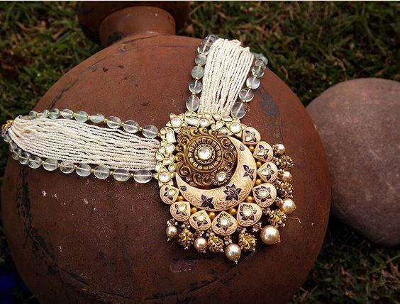 Semi-Precious Jewellery Shops for Wedding  Online & Offline