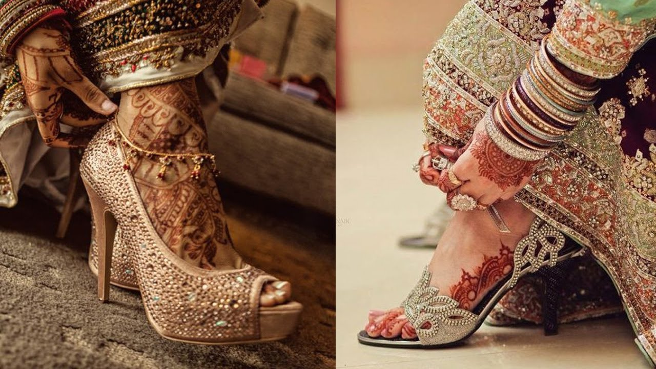 15+ New and Latest Bridal Shoe Designs For  Every Indian Bride