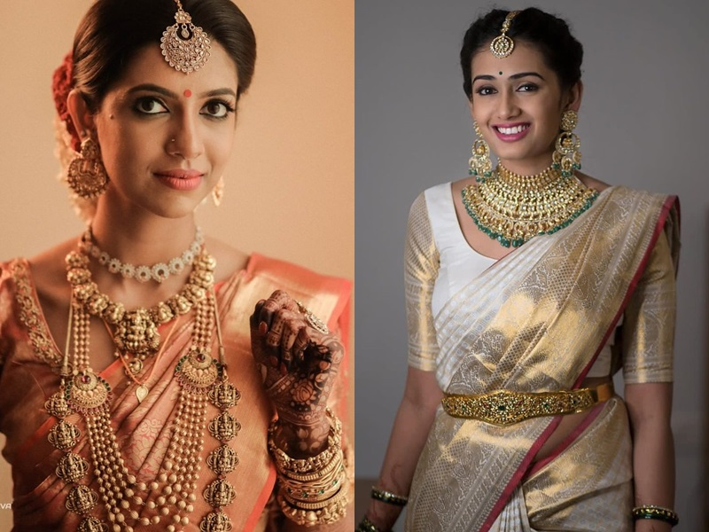 15+ Trendy and Traditional South Indian Jewellery Designs for Indian Brides