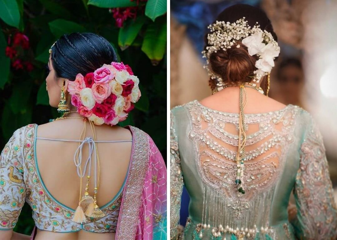 15+ Latest and New Bun Hairstyle Ideas For Indian Brides