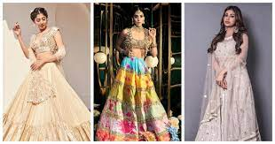 15+ Best and Latest Mirror Work Lehenga Designs For Indian Brides