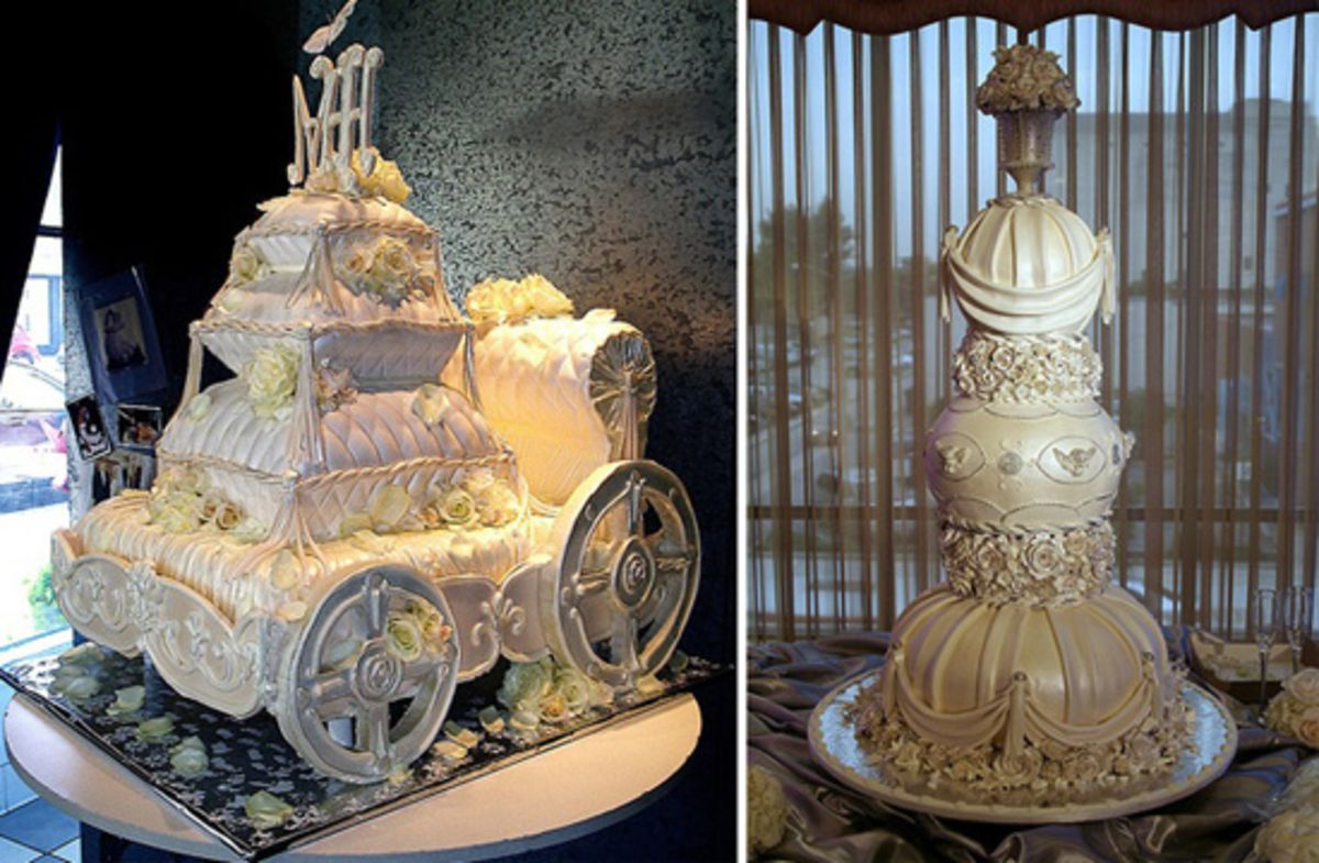 40+ Latest and New Indian Wedding Cakes Designs and Images